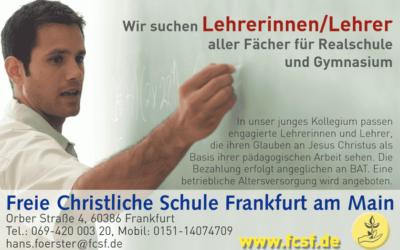 Lehrerinnen/Lehrer für Gymnasium/Realschule